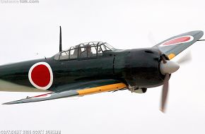 Japanese Navy A6M Zero Fighter Aircraft