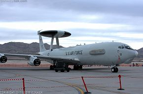 USAF E-3 Sentry Airborne Early Warning & Control Aircraft