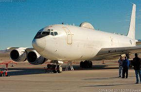 US Navy E-6 Mercury Airborne Command Post