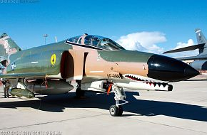 USAF QF-4 Phantom II Fighter Aircraft/Target Drone