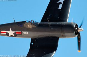 USMC F4U Corsair Fighter Aircraft