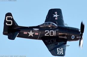 US Navy F8F Bearcat Fighter