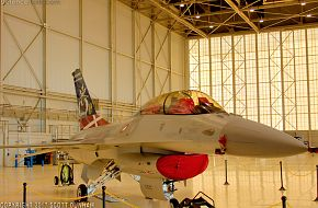 RDAF F-16 Falcon JSF Test Support Aircraft