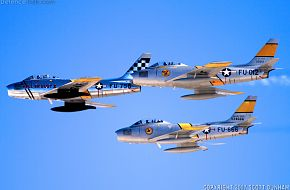 USAF F-86 Sabre Fighter