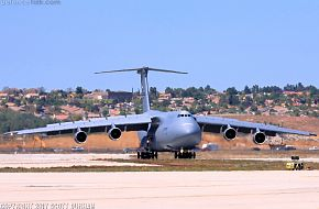 USAF C-5M Super Galaxy Heavy Transport
