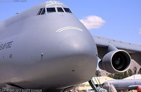 USAF C-5M Super Galaxy Heavy Transport Aircraft