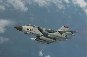 Tornado GR4 with Storm Shadow Cruise Missile