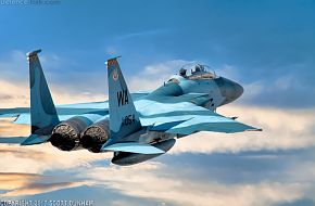 USAF F-15D Eagle Aggressor Air Superiority Fighter Aircraft