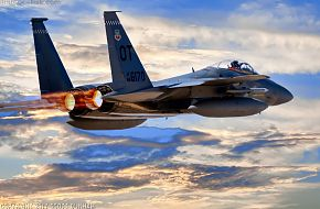 USAF F-15C Eagle Air Superiority Fighter Aircraft