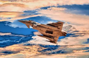 RAF Eurofighter Typhoon FGR4 Fighter Aircraft
