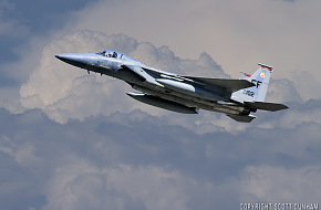USAF F-15C Eagle Air Superiority Fighter