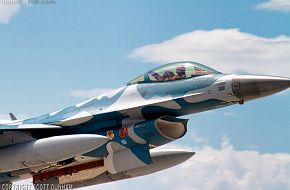 USAF F-16 Viper Aggressor Squadron Fighter