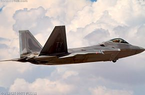 USAF F-22A Raptor Air Superiority Fighter Aircraft