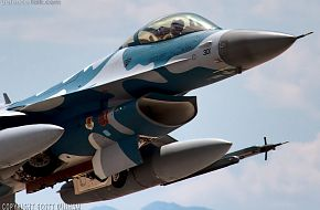 USAF F-16 Viper Aggressor Fighter Aircraft