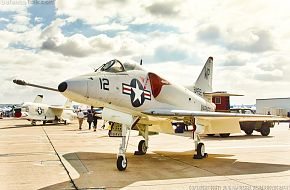 USMC A-4C Attack Aircraft
