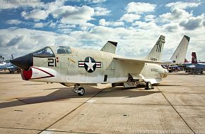 USMC F-8U Crusader Fighter