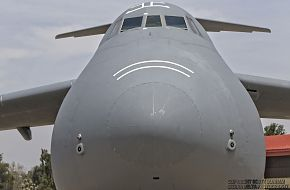 USAF C-5B Galaxy Heavy Transport Aircraft