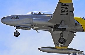 USAF T-33 Shooting Star Trainer Aircraft