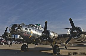 USAAC B-17 Flying Fortress Heavy Bomber
