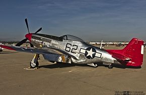 USAAC P-51 Mustang Pursuit Aircraft