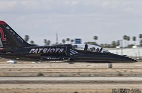 Patriots Flight Demonstration Team L-39 Albatross Jet Trainer Low Level Pass