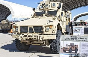 US Army M-ATV MRAP Tactical Vehicle