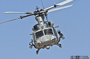 USMC UH-1Y Venom Attack Helicopter