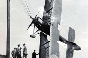 WW1 flight training