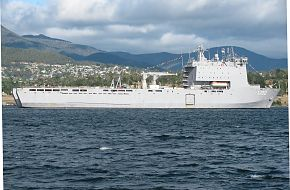 HMAS Choules At Royal Hobart Regatta Feb 10 2019 3