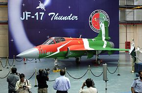 JF-17 Thunder in Pakistan-China Color