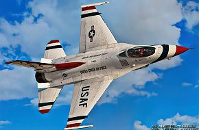 USAF Thunderbirds Flight Demonstration Team, F-16 Viper