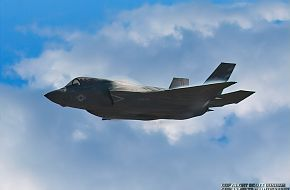 USMC F-35B Panther Joint Strike Fighter