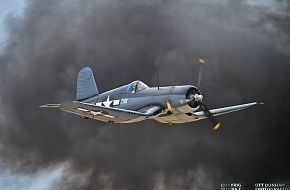 US Navy F4U Corsair Fighter Aircraft