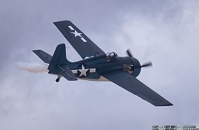 US Navy F4F Wildcat Fighter Aircraft