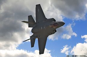 USAF F-35A Panther Multi-Role Combat Aircraft