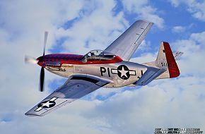 USAAC P-51 Mustang Fighter