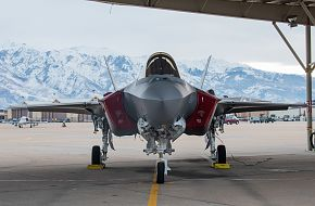 F-35A Lightning II Hill AFB