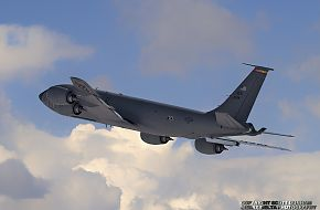 USAF KC-135R Stratotanker Refueling and Transport Aircraft
