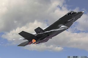 USAF F-35A Panther Joint Strike Fighter