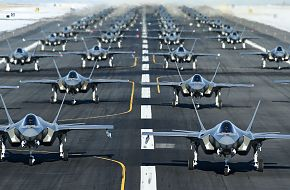 F-35A Air Power Combat Exercise Hill Afb