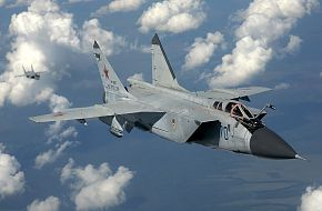 MiG-31BM Fighter Jet - Russian Air Force