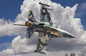 USAF F-16 Viper Aggressor Force Aircraft