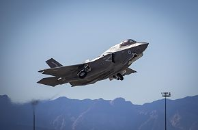 UK RAF F-35 Fighter Jet at Red Flag 20-1