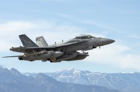 US Navy EA-18G Growler aircraft