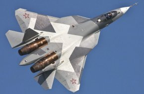 Su-57 fighter jet Russian Air force