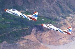 T-37 basic jet trainers