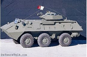 RN-94 6x6 Armoured Combat Vehicle
