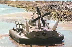 Iranian missile armed hovercraft