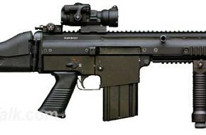 US SOCOM SCAR-L rifle