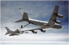 F-16 Fighting Falcon & KC-135